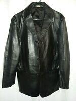 Banana Republic Black Men's Medium Leather Jacket