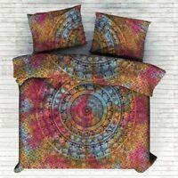 Ombre Mandala Bettbezug Hippie Indischen Einzigen Bettwäsche Baumwolle Boho