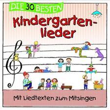 Die 30 besten Kindergartenlieder von Karsten Glück, Simone Sommerland OVP