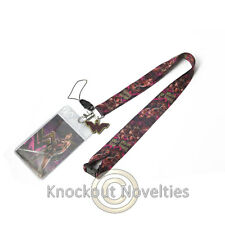 Lanyard w/ Soft Touch Dangle - DC Wonder Woman Cute Fun Key ID Holder Clip