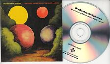 ORCHESTRA OF SPHERES Brothers & Sisters Of The Black Moon 2016 UK 11trk promo CD