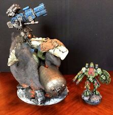 Warhammer 40k Tau Empire Knarloc Forgeworld Converted as Riptide Pro Painted