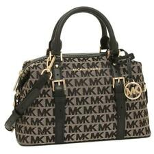 Michael Kors Ginger Small Duffle Satchel Women's Bag 35H9GYJS5J Black