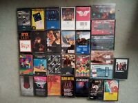 Cassette Tape Lot of 28 Classic Rock/Metal: KISS, Stones, Styx, Tom Petty. See!