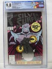 Silver Surfer 50 - Volume 3 - 2nd Print - Thanos - Custom Label - CGC Graded 9.8