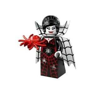 LEGO- Series 14 Monsters - #16 SPIDER LADY - Collectible Minifigures - Zombie