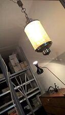 Lampadario anni 60 in OTTONE NICHELATO perfetto 47 cm lamp 50 1950 1960 italian