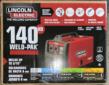 Lincoln Electric Mig Flux 140hd Wire Feed Welder Blackred New Unopened