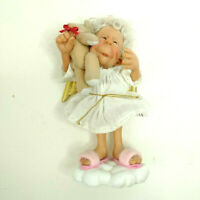 """Goebel Reminder Angels by Richard Simmons Bear Hugs Are The Best 6"""" Figurine"""
