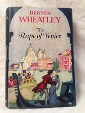 Dennis Wheatley - SIGNED - Rape of Venice, 1st/1st 1959 Hutchinson, in Jacket