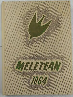 Meletean 1964 Wisconsin State College River Falls Yearbook, Unsigned
