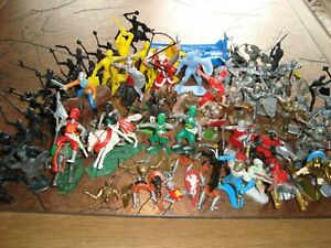 !!! MANY RARE KNIGHTS - ORIGINAL TIMPO TOYS AND OTHER BRANDS - SCALE 1:32 !!!