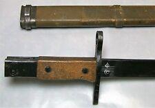 Japanese TALW Toyada Automatic Loom Works Variation Q Bayonet w/ Wood Scabbard