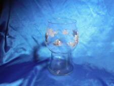 Pfaltzgraff Grapevine Glass Pillar Floating Candle Holder USA Glassware