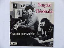 MOUSTAKI THEODORAKIS Chansons pour Andreas 2215003