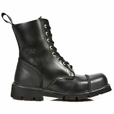New Rock Chelsea, Ankle Boots Lace Up Shoes for Men