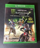 Monster Energy Supercross [ The Official Videogame ] (XBOX ONE) NEW