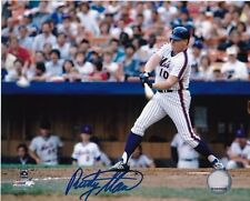 RUSTY STAUB  NEW YORK METS  1980'S  ACTION SIGNED 8x10