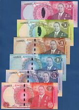 TONGA 2,5,10,20,50,100 Pa'anga (2015) MATCHING SERIAL Set UNC P. NEW