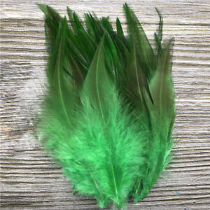 50/100pcs high quality beautiful natural rooster tail feathers 4-6inches/10-15cm