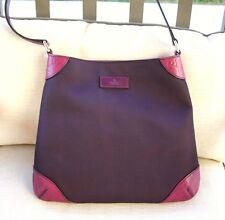 NEW Authentic GUCCI Hobo Shoulder Bag Guccissima Leather trim Purple 248272 8662