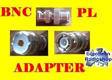 Neu Adapter BNC Stecker auf PL Buchse