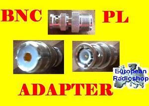 -Adapter BNC Stecker auf PL Buchse-Neu