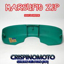 MARSUPIO PORTAOGGETTI -- PIAGGIO ZIP 50 ---ANT.  1993/94 VERDE -