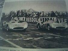 magazine picture 1954 mercedes  benz at the grand prix fangio kling