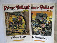 Prince Valiant vol 26 & 27 Lithway's Law Eternal Quest Harold Foster comic strip