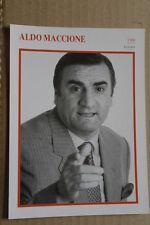 (S26) STARPORTRAITKARTE - Aldo Maccione