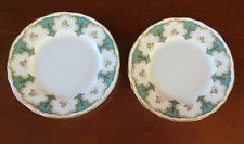 2 Crown Staffordshire Marlborough Bread & Butter Plates