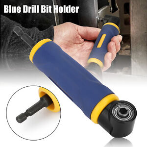 """90 Degree Angle 1/4"""" Screwdriver Socket Adapter Drill Extension Attachment Tool"""