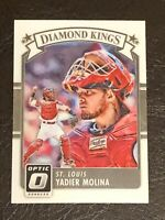 2016 Panini Donruss Optic Yadier Molina Card #26 Mint Diamond Kings STL Cards