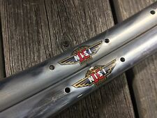 CERCHI NISI MONCALIERI 36H TUBULAR RIMS RIM NOS 700C MADE ITALY VINTAGE BICYCLE