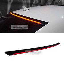 LED Rear Roof Brake Light Lamp Glass Wing Lip Spoiler for AUDI 2014-2015 A3