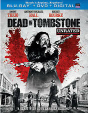 DEAD IN TOMBSTONE BLU RAY & DVD MOVIE DANNY TREJO 2 DISC SET UNRATED W/SLIPCOVER