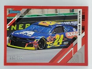 2020 Panini Donruss Racing - Red #d 30/299 - WILLIAM BYRON -