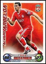 Liverpool Topps Match Attax Football 2007-2008 Trade Card Alvaro Arbeloa C395
