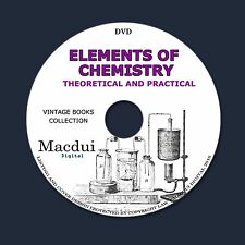 Elements of Chemistry Theoretical and Practical Vintage Ebooks 3 Volumes 1 DVD