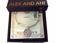 Alex and Ani Color Infusion Mermaid III Bangle Bracelet Rafaelian Silver NWTBC