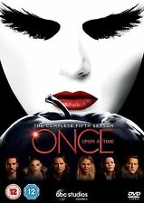 Once Upon a Time Complete Series 5 DVD All Episodes Fifth Season UK Release New