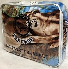New Super Soft 2Ply Queen Size Reversible Mink Blanket Buy Get Free Blanket7.2LB