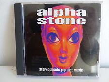 CD ALBUM ALPHA STONE Stereophonic pop art music BOMP BCD 4054