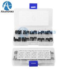 10 Value 60pcs L7805 Lm317 Voltage Regulator Transistors Assortment Kit Set
