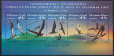 Christmas Islands 1993 Birds sheet MS MNH unmounted mint