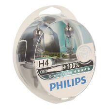 SAAB 93 9-3 98-03MY PHILIPS X-TREME H4 UPGRADED HEADLAMP HEAD LAMP BULB PAIR