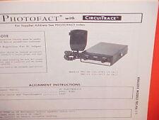 1976 REALISTIC CB RADIO SERVICE MANUAL MODELS TRC-9A (21-139) TRC-11 (21-141)