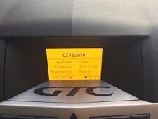 Opel Astra H Display Blende OPC GTC Schriftzug GID