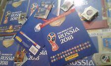ALBUM PANINI FIGURINE WC RUSSIA 2018 VERSIONE A PAGAMENTO +SET COMPLETO+AGGIORN